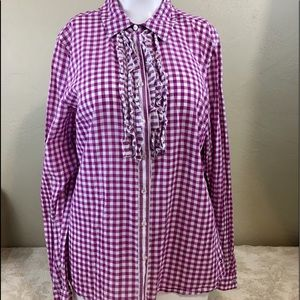 Tommy Hilfiger Gingham Check Shirt Long Sleeve